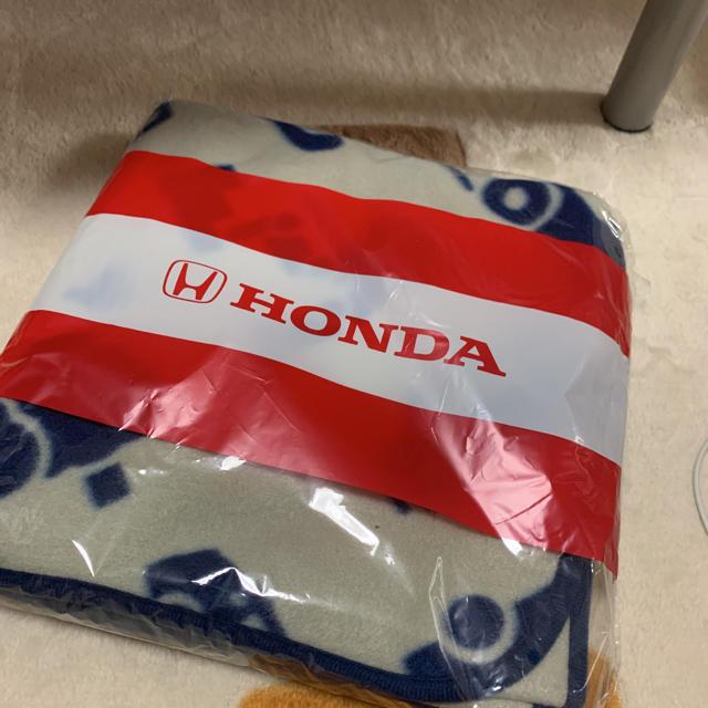 HONDA ひざ掛け キッズ/ベビー/マタニティのこども用ファッション小物(おくるみ/ブランケット)の商品写真