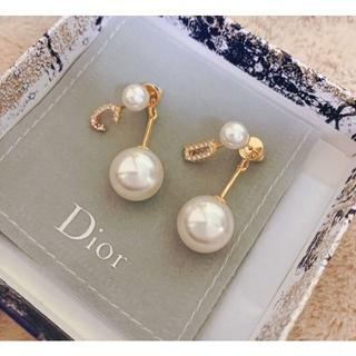 Dior - Dior  パール ピアス