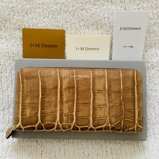 J&M DAVIDSON - J&M DAVIDSON♡型押し財布 未使用美品