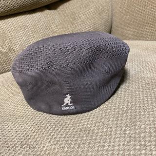 カンゴール(KANGOL)のKANGOL グレー M(ハンチング/ベレー帽)