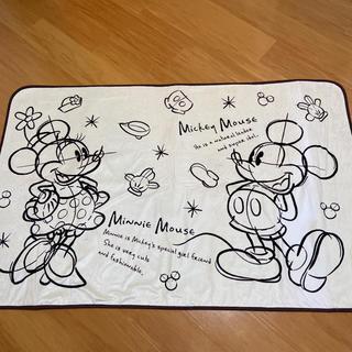 ディズニー(Disney)のミッキー&ミニー ラグ2畳用(ラグ)