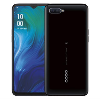 ラクテン(Rakuten)のOPPO Reno A 128GB ブラック SIMフリー(スマートフォン本体)
