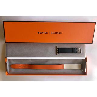 アップルウォッチ(Apple Watch)の絶版 Apple Watch HERMES ドゥブルトゥール レザーストラップ(腕時計)