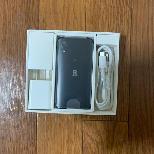 Rakuten(ラクテン)のRakuten Mini ナイトブラック スマホ/家電/カメラのスマートフォン/携帯電話(スマートフォン本体)の商品写真