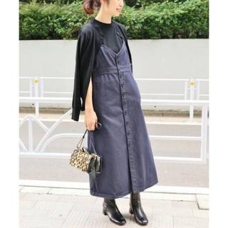 イエナ(IENA)のイエナ♡デニムジャンパースカート 38(ロングワンピース/マキシワンピース)