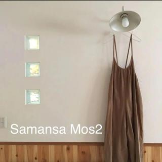 SM2 - Samansa Mos2♡ヘリンボーンキャミ サロペット