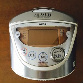サンヨー(SANYO)のサンヨー  圧力 IH ジャー 炊飯器(炊飯器)