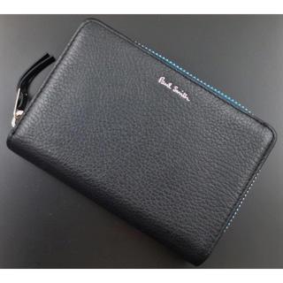 ポールスミス(Paul Smith)の新品箱なし ポールスミス 人気ファスナー 二つ折り財布 黒(折り財布)