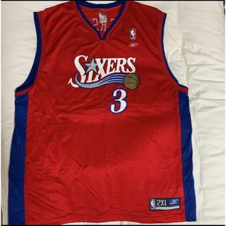 リーボック(Reebok)のNBA 76ers アイバーソン ユニフォーム 2xl (バスケットボール)