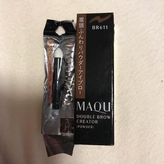 マキアージュ(MAQuillAGE)のマキアージュダブルブロークリエーターパウダーBR611(アイブロウペンシル)