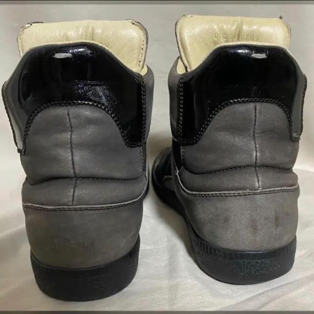 Maison Martin Margiela レザースニーカー 39 25.0 メンズの靴/シューズ(スニーカー)の商品写真
