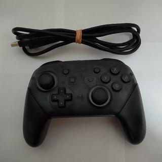 Nintendo Switch - Switch プロコン 任天堂 純正  プロコントローラー Proコントローラー