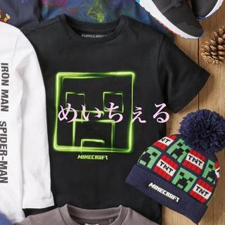 マイクロソフト(Microsoft)の【新品】ブラック Minecraft Tシャツ(オールド)(Tシャツ/カットソー)