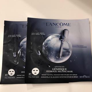LANCOME - ランコム ジェニフィック アドバンスト ハイドロジェル メルティングマスク