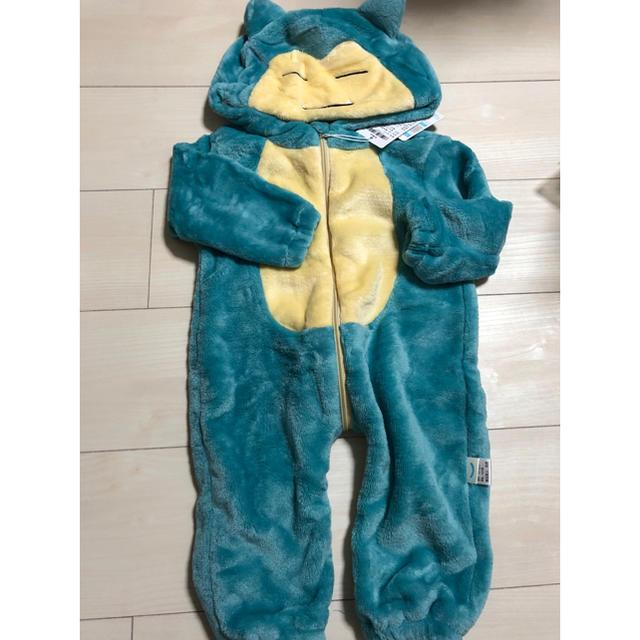 カビゴン ロンパース キッズ/ベビー/マタニティのベビー服(~85cm)(ロンパース)の商品写真