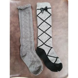 サンカンシオン(3can4on)の靴下 ハイソックス 女の子 16 17 18センチ(靴下/タイツ)