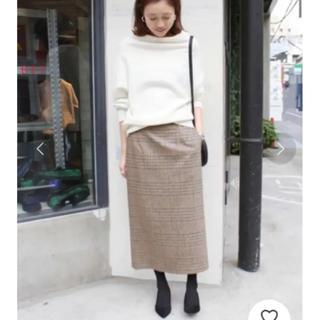 IENA SLOBE - スローブイエナ グレンチェックタイトミディスカート