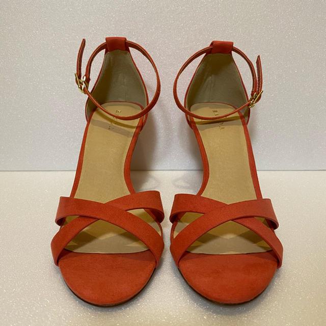 RANDA(ランダ)のRANDA❤︎クロスデザイン アンクルストラップサンダル SS レディースの靴/シューズ(サンダル)の商品写真