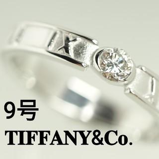 Tiffany & Co. - 質流れ品TV!TIFFANY&Co. ティファニーダイヤホワイトゴールド リング