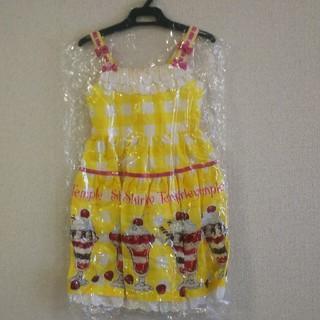 Shirley Temple - シャーリーテンプル パフェ ジャンパースカート ワンピース 110