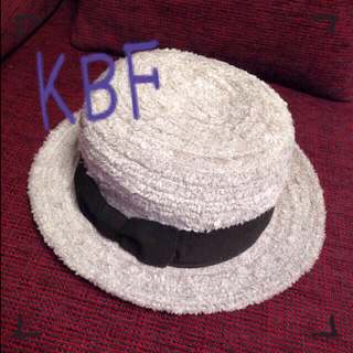 ケービーエフ(KBF)の格安!KBF/モコモコ帽子♡(ハット)