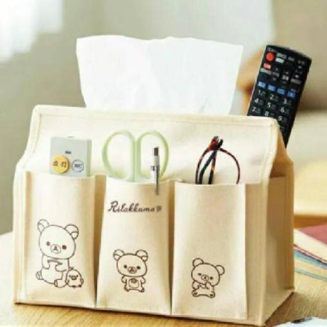 リラックマ ティッシュボックスケース 雑誌付録 エンタメ/ホビーのおもちゃ/ぬいぐるみ(キャラクターグッズ)の商品写真