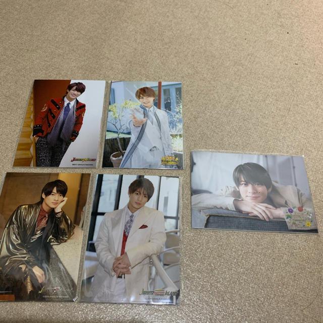 Johnny's(ジャニーズ)の平野紫耀 公式写真 フォトセ エンタメ/ホビーのタレントグッズ(アイドルグッズ)の商品写真
