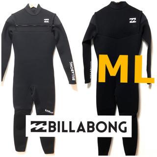 billabong - MLサイズ ビラボン BILLABONG ノンジップ ウェットスーツ ウエット