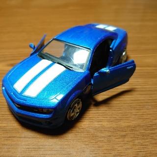 シボレー(Chevrolet)の【現品限り!!】シボレー カマロ ミニカースポーツカー 青色(ミニカー)