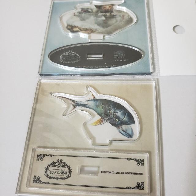 モンハン酒場 アクリルスタンド エンタメ/ホビーのおもちゃ/ぬいぐるみ(キャラクターグッズ)の商品写真