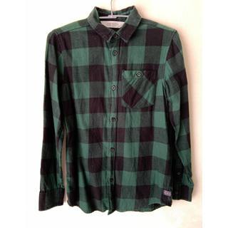 エイチアンドエム(H&M)のH&M kids チェックシャツ(ブラウス)