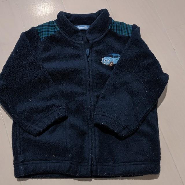 familiar(ファミリア)のファミリアフリ−ス80 キッズ/ベビー/マタニティのベビー服(~85cm)(ジャケット/コート)の商品写真