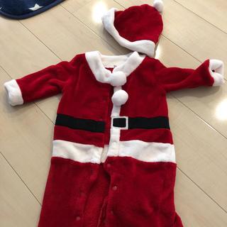 クリスマスサンタ衣装80サイズ(衣装)