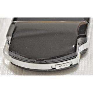 PSP2000 PSP3000 大容量バッテリーカバー ブラック黒