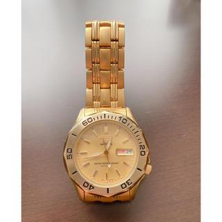 セイコー(SEIKO)のSEIKO 7S26-01G0 5 Sports ゴールド 中古品(腕時計(アナログ))