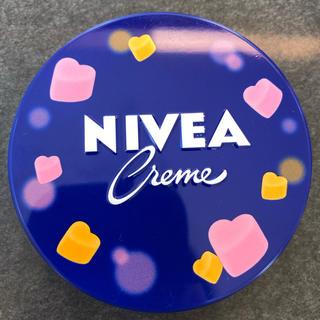 ニベア - NIVEA ニベア 青缶 ハート 限定品