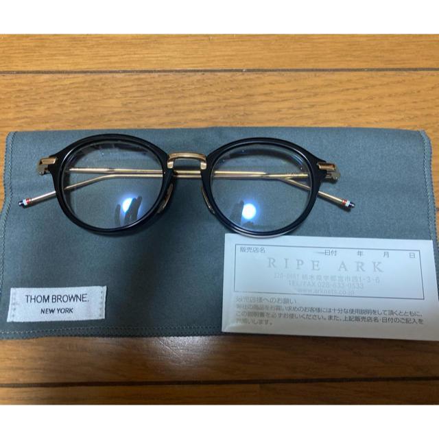 THOM BROWNE(トムブラウン)のフレームショップ様専用 THOM BROWNE TB-011 メンズのファッション小物(サングラス/メガネ)の商品写真