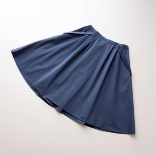 FOXEY - ■FOXEY NY■ 38 リッチグレー グログランフレアスカート