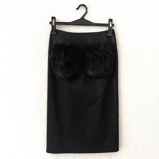VICKY - VICKY♡ファーポケット膝丈スカート