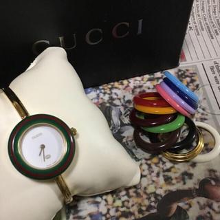 Gucci - GUCCI ベゼルウォッチ 【期間限定値下げ】
