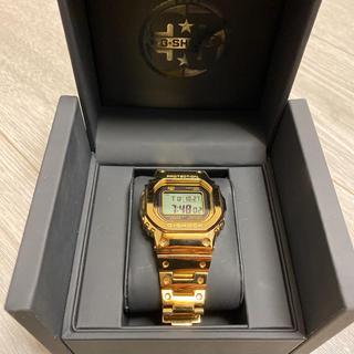 ジーショック(G-SHOCK)のG-SHOCK 35周年モデル ゴールド(腕時計(デジタル))