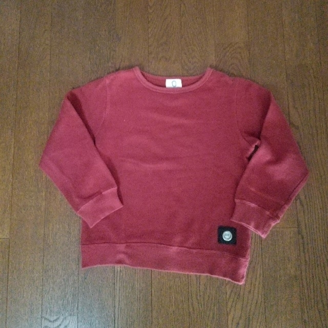 0STANDARD 120 トレーナー キッズ/ベビー/マタニティのキッズ服男の子用(90cm~)(Tシャツ/カットソー)の商品写真