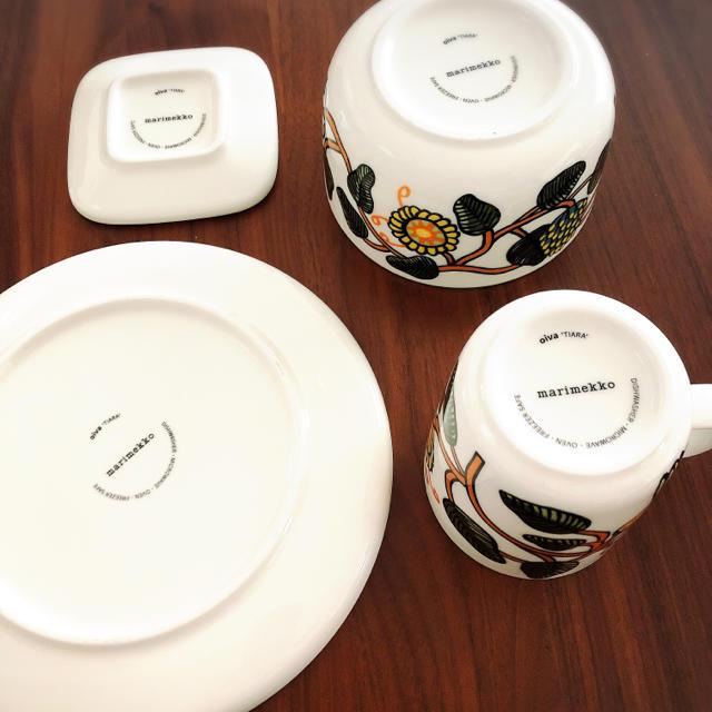marimekko(マリメッコ)のmarimekko 4つセット インテリア/住まい/日用品のキッチン/食器(食器)の商品写真