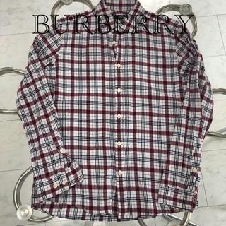 BURBERRY BLACK LABEL - BURBERRY BLACKLABEL チェックシャツ ネルシャツ