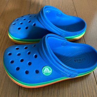 crocs - クロックスレインボーバンドクロッグ