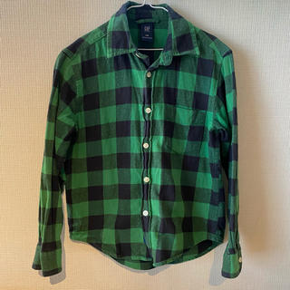 ギャップ(GAP)のGAP ギャップ チェックシャツ キッズ 130(ブラウス)