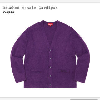 Supreme - Lサイズ supreme brushed mohair cardigan