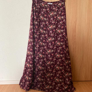ローラアシュレイ(LAURA ASHLEY)のローラアシュレイ 花柄 ロングスカート スカート(ロングスカート)