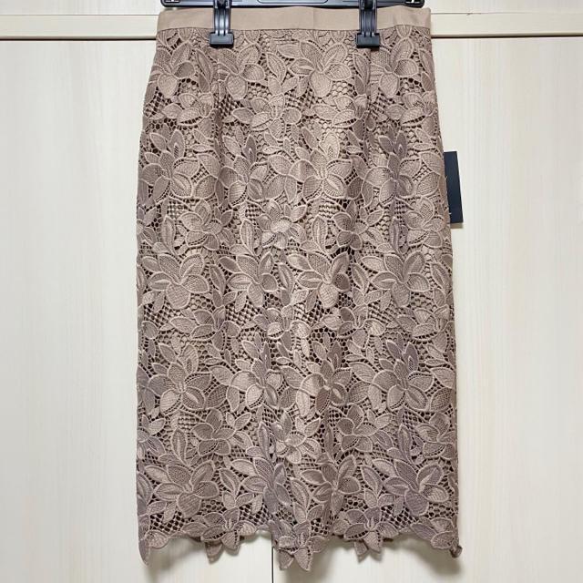 JUSGLITTY(ジャスグリッティー)のJASGLITTY ジャスグリッティー 新品タグ付き レーススカート レディースのスカート(ひざ丈スカート)の商品写真