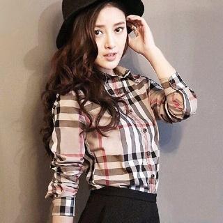 ZARA - 韓国ファッション チェック柄シャツ スリムシャツ カジュアルシャツ